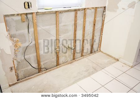 Water Damage In Kitchen