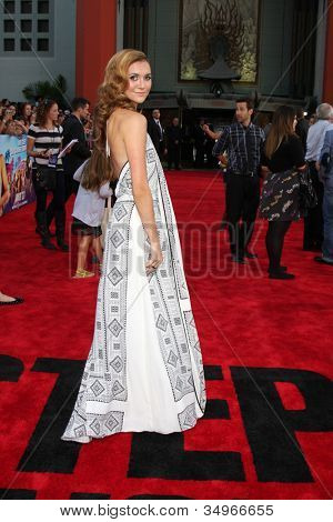 LOS ANGELES - JUL 17:  Alyson Stoner arrives at the