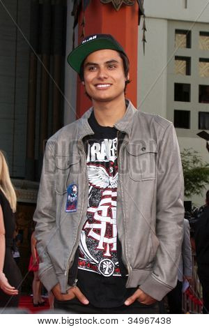 LOS ANGELES - JUL 17:  Kiowa Gordon arrives at the