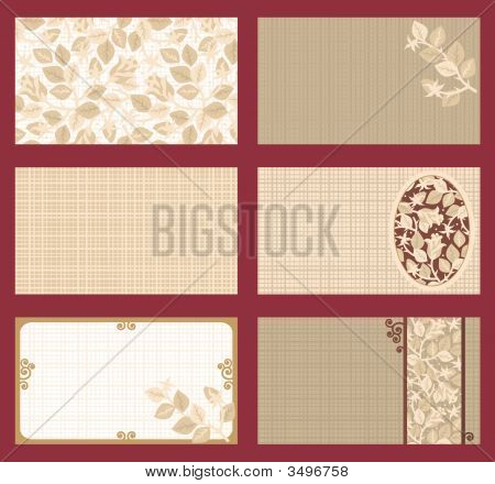 Business Cards, Gift Tags, Invitations, Etc. Templates