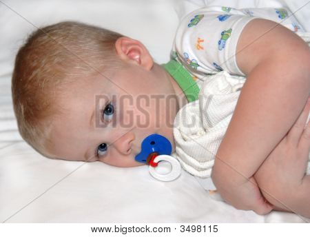 Blanket And Pacifier For Security