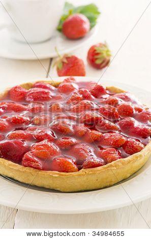 Strawberry tarte