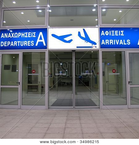 Airport Dimocritos Alerxandroupolis Greece