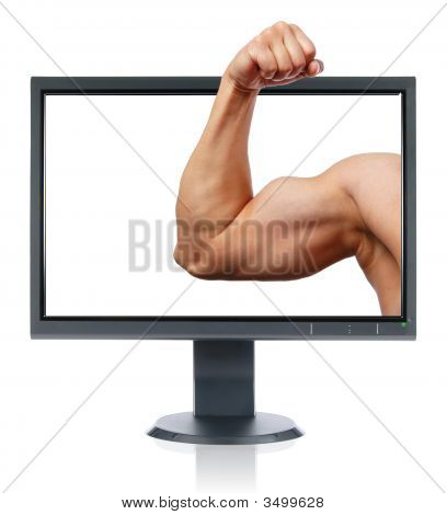 Biceps And Monitor