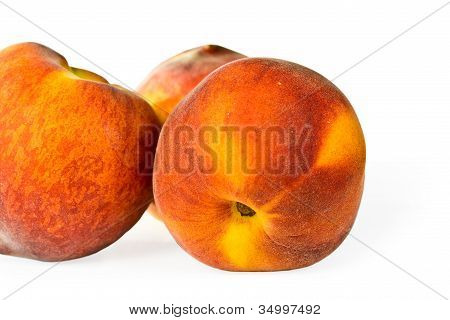 Ripe Juicy Peaches