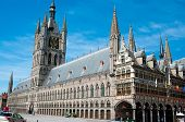 The Cloth Hall of Ypres, Belgium