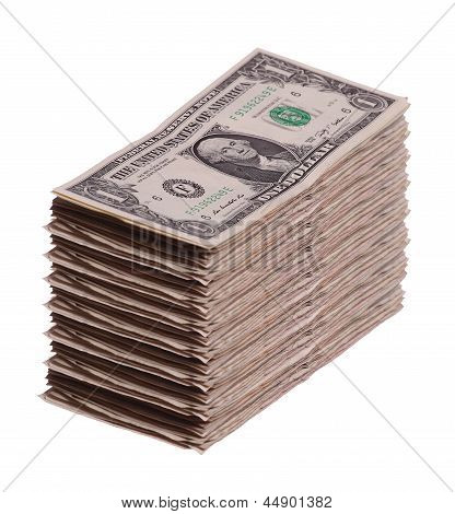 Stack Of Dollar Notes