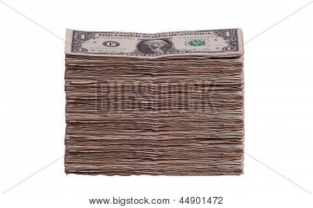 Lot Of Dollar Notes