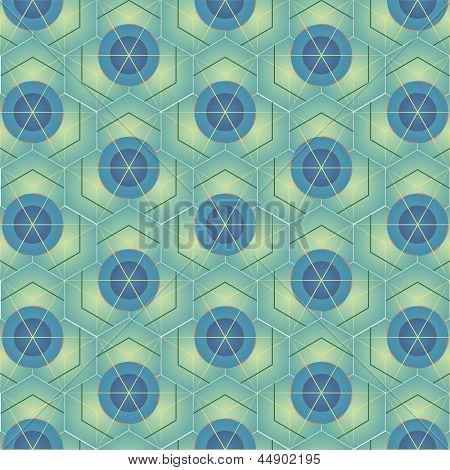 shapes seamless pattern