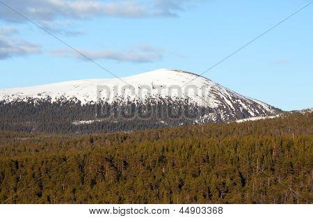 Iron Mountain auf der Kola-Halbinsel. Russland