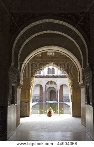 Silence And Tranquility In The Alhambra