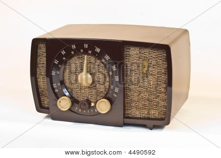 Old Art Deco Radio