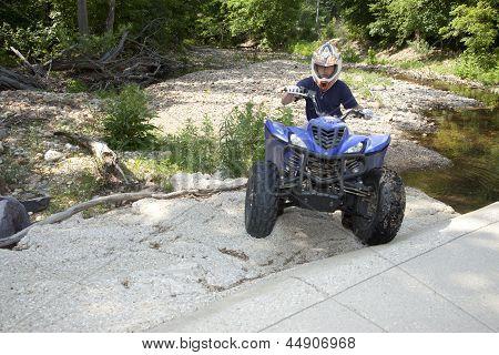 Conducción de ATV