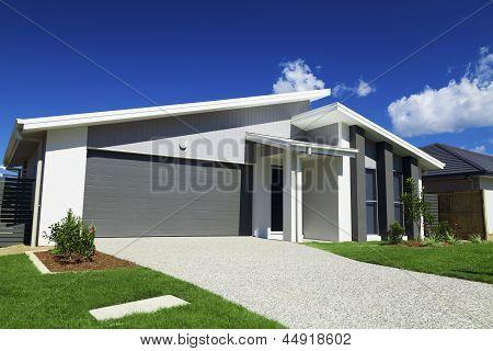 Australische Vorstadthaus