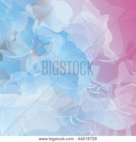 Abstract Smoky Flow Background
