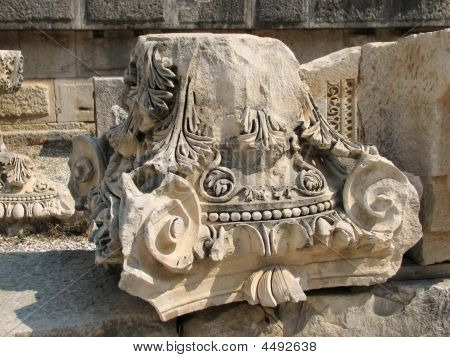 Capital Of The Roman Column