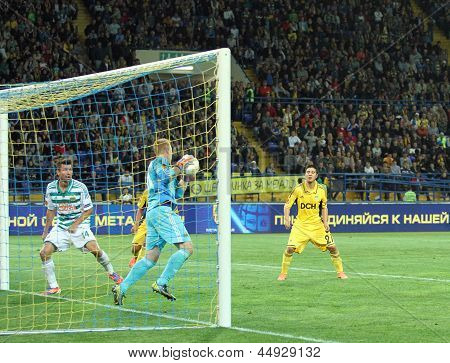 Metalist Kharkiv Vs Rapid Wien Football Match