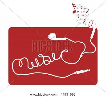 Música de earbud