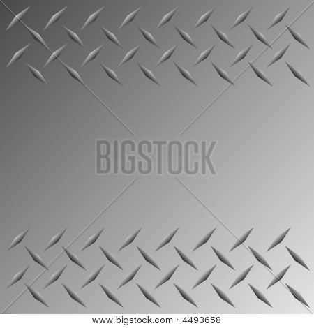 Vector Diamond Plate Grenze