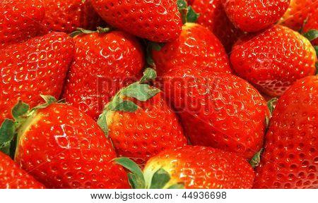 Erdbeer Hintergrund