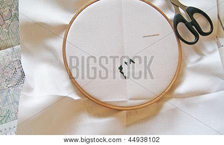 Cross Stitching, Start Up
