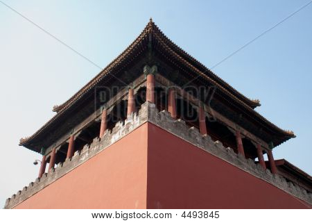 Historical Archetecture In Beijing
