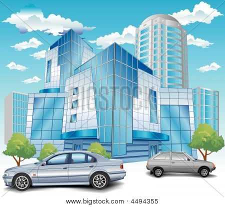 Building With Parking