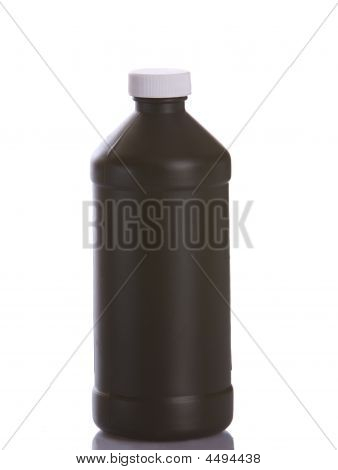 Brown Plastic Bottle