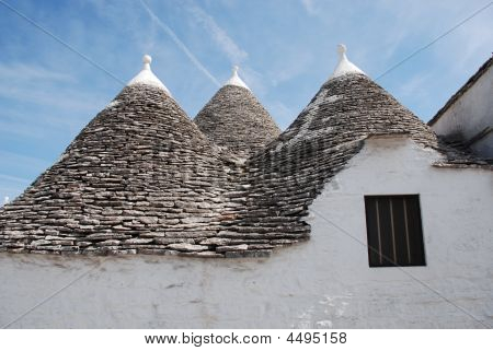 Trullo Roof With Window, Puglia