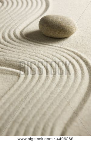 Piedra de arena rake