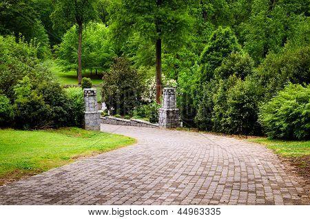 Trail at Grant Park in Atlanta
