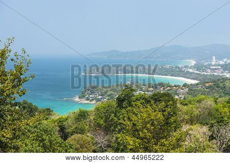 Kata Beach Viewpoint at Phuket island, Thailand
