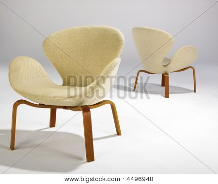 Two Swan Chairs