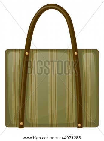 Illustration of a handy bag on a white background