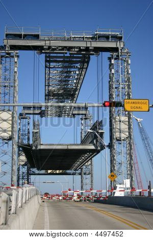 Drawbridge Going Up