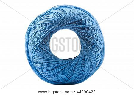 Blue Cotton Spool