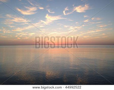 Red Sea Sunrise Horizontal
