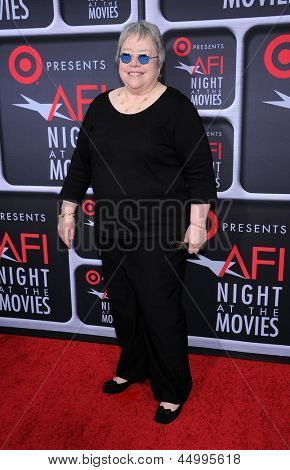 LOS ANGELES - APR 24:  Kathy Bates arrives to the AFI Night At The Movies 2013  on April 24, 2013 in Hollywood, CA
