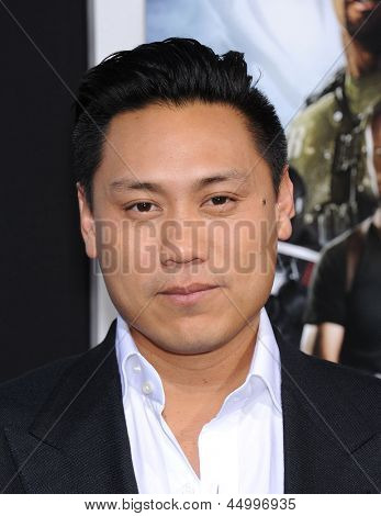LOS ANGELES - 28 de março: Chu chega para a Premiere de Los Angeles de