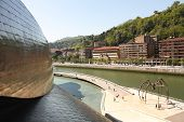 Guggenheim Museum, Bilbao In Spain