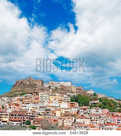 Castelsardo Under Clouds