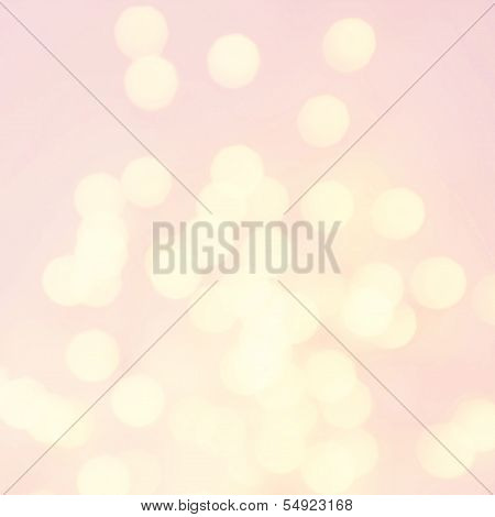 Abstract Natural Blur Defocussed Background With Sparkles, Soft Focus, Greeting Holiday Card, Festiv