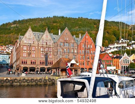 The Wharf In Bergen