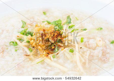 Porridge Rice Gruel