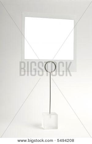 Blank Photo Frame Clip