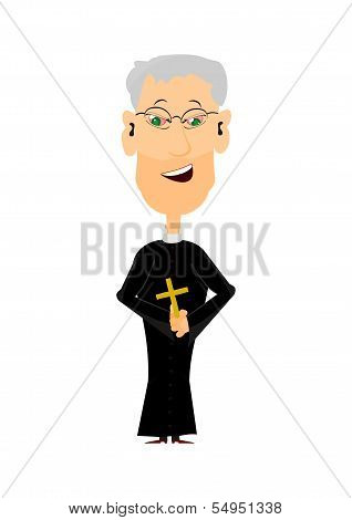 Cartoon Priest