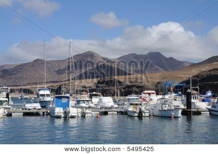 Marina In Morro Jable, Canary Island Fuerteventura