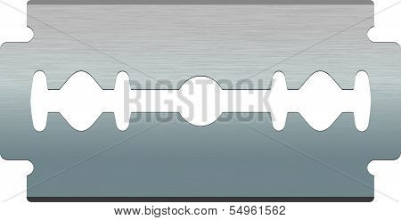 Razor blade. Vector illustration