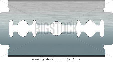 Razor blade. Vector illustration