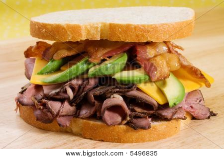 Roast Beef, Avocado, & Bacon